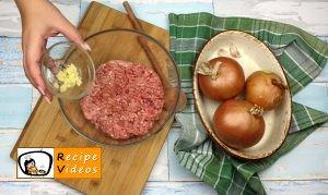 Stuffed onion rings recipe, how to make Stuffed onion rings step 1