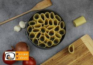 Pasta cake recipe, prepping Pasta cake step 4