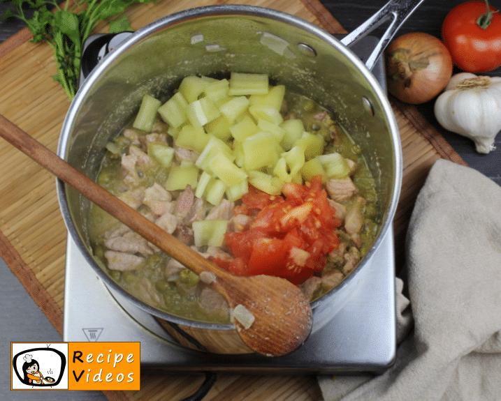 Pea stew recipe, prepping Pea stew step 5
