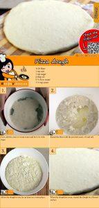 Pizza dough recipe with video