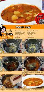 Potato soup recipe with video