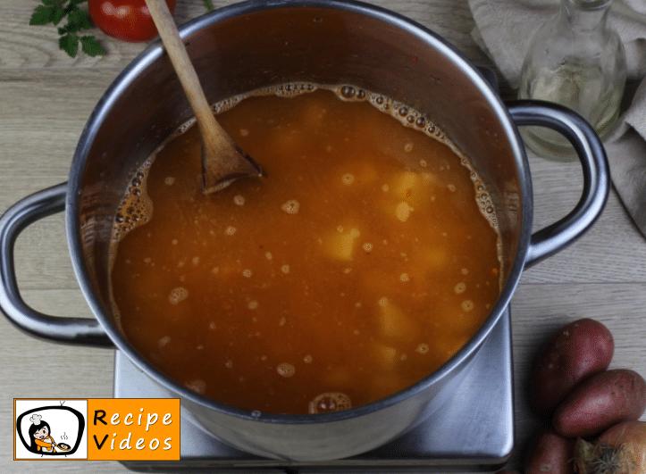 Potato soup recipe, prepping Potato soup step 4