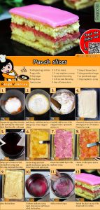 Punch slices recipe with video
