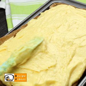 Raffello slices recipe, prepping Raffello slices step 5