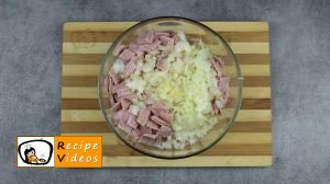 Rice balls with ham and cheese recipe, prepping Rice balls with ham and cheese step 3