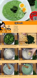Spinach recipe with video