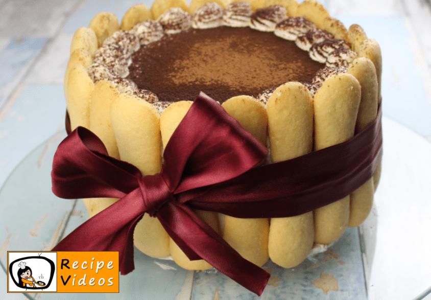 Tiramisu cake recipe, how to make Tiramisu cake step 13