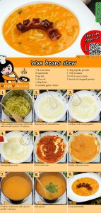 Wax beans stew recipe with video
