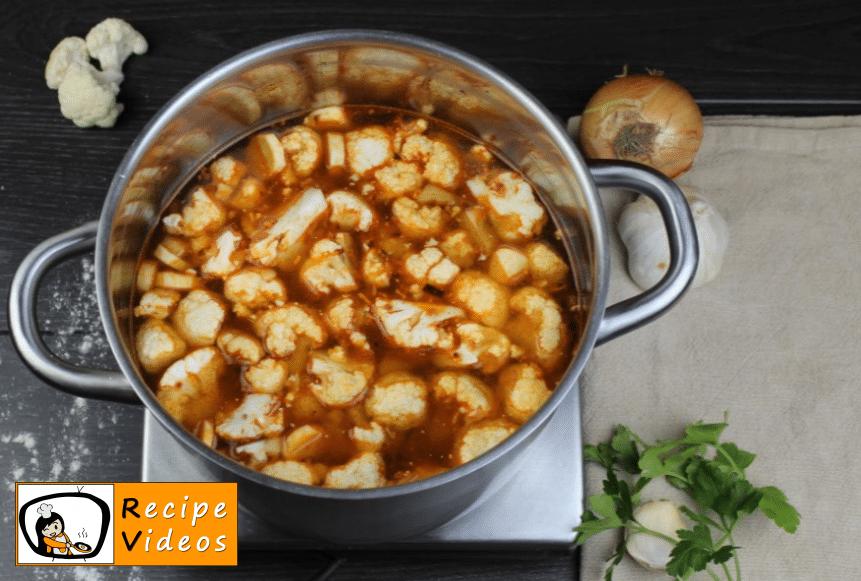 Cauliflower soup with sour cream recipe, how to make Cauliflower soup with sour cream step 5