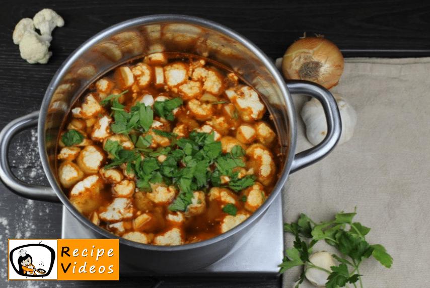 Cauliflower soup with sour cream recipe, how to make Cauliflower soup with sour cream step 6