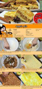 Apple pie recipe with video