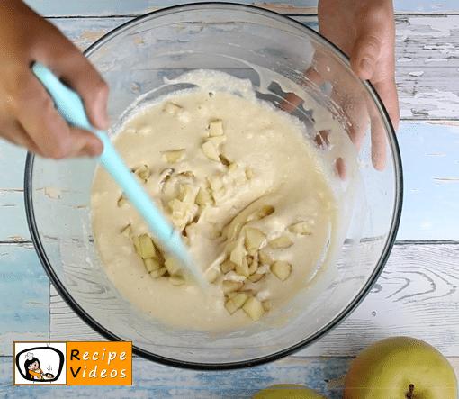 Apple pancakes recipe, prepping Apple pancakes step 4
