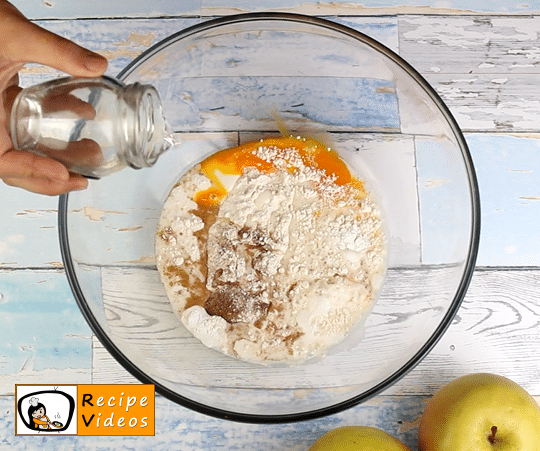 Apple pancakes recipe, prepping Apple pancakes step 1