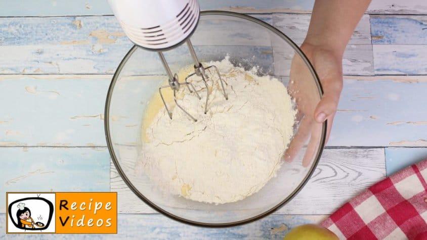 Apple sheet pie recipe, prepping Apple sheet pie step 2