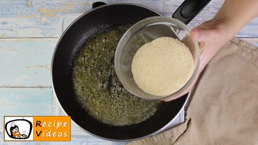 Apple strudel recipe, prepping Apple strudel step 2