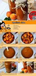 Apricot jam recipe with video