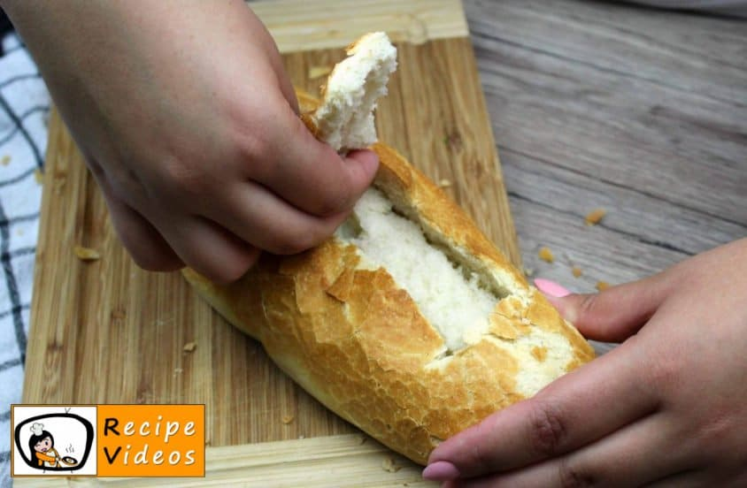 Baguette Boats recipe, how to make Baguette Boats step 4