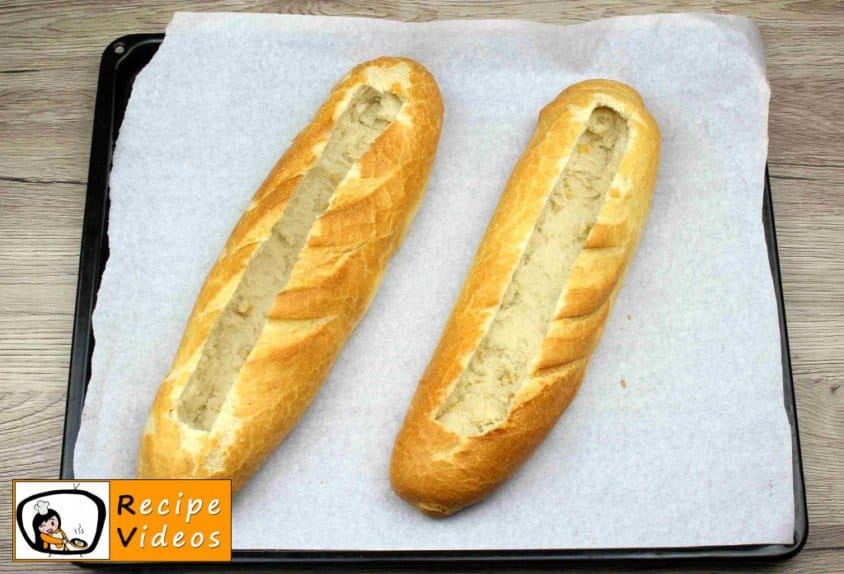 Baguette Boats recipe, how to make Baguette Boats step 5