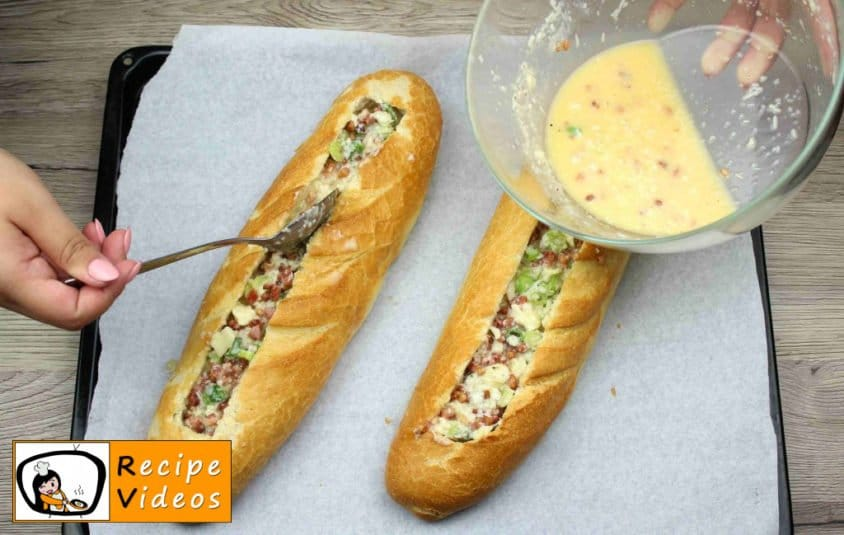 Baguette Boats recipe, how to make Baguette Boats step 6