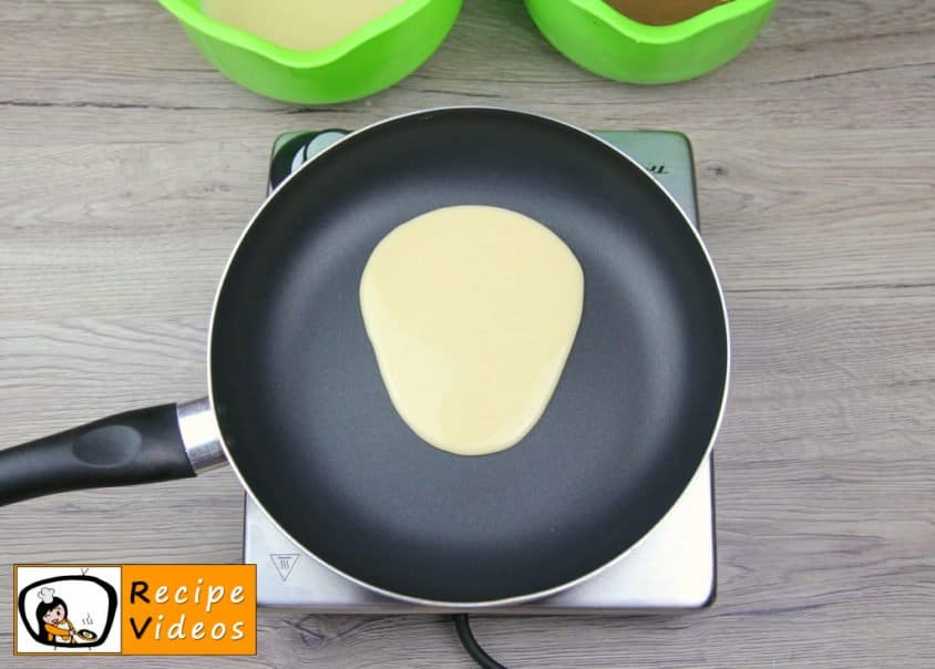 Bear-shaped Pancakes recipe, how to make Bear-shaped Pancakes step 3