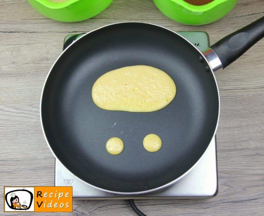 Bear-shaped Pancakes recipe, how to make Bear-shaped Pancakes step 5