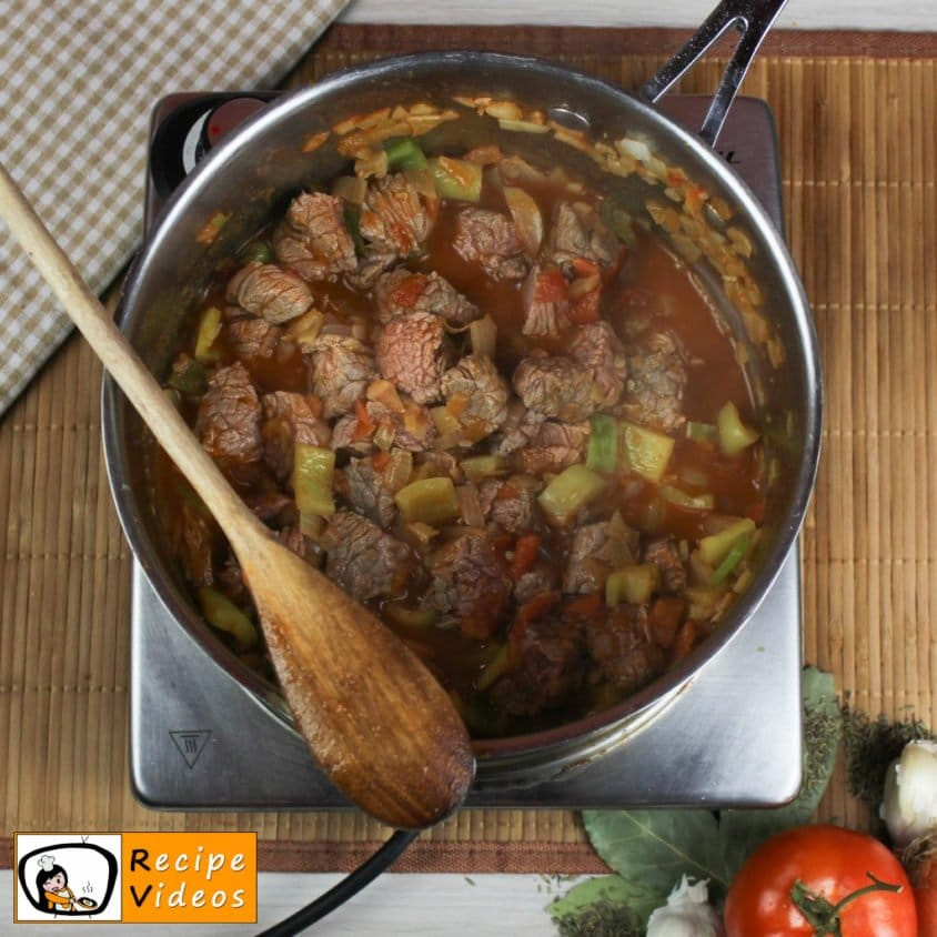 Beef Goulash recipe, how to make Beef Goulash step 3