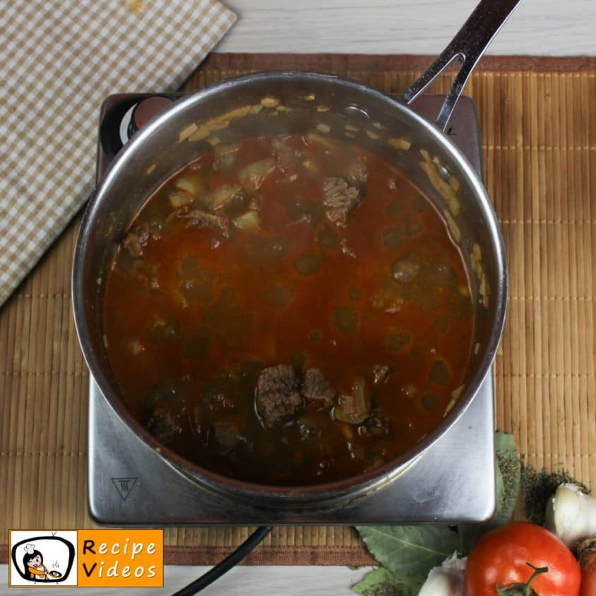 Beef Goulash recipe, prepping Beef Goulash step 4