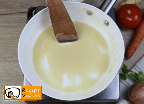 Blond Roux recipe, how to make Blond Roux step 3
