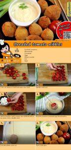 Breaded tomato nibbles recipe with video