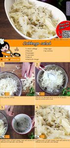 Cabbage salad recipe with video