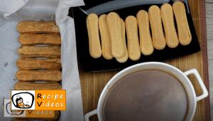 Caramel ladyfinger slices recipe, prepping Caramel ladyfinger slices step 9