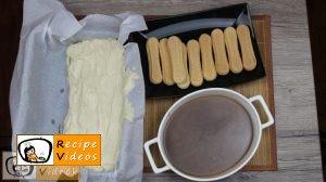 Caramel ladyfinger slices recipe, prepping Caramel ladyfinger slices step 10