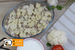 Cauliflower casserole recipe, prepping Cauliflower casserole step 9