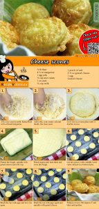 Cheese scones recipe with video