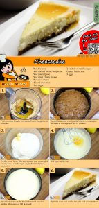 Cheesecake recipe with video