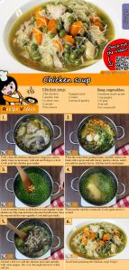 Chicken soup recipe with video