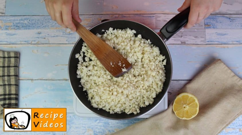 Chicken curry with cauliflower rice recipe, prepping Chicken curry with cauliflower rice step 1