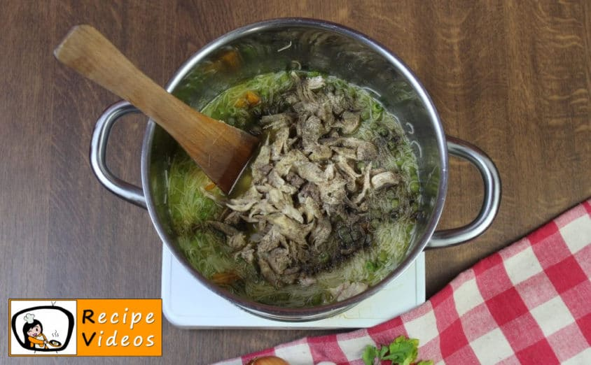 Chicken soup recipe, how to make Chicken soup step 5