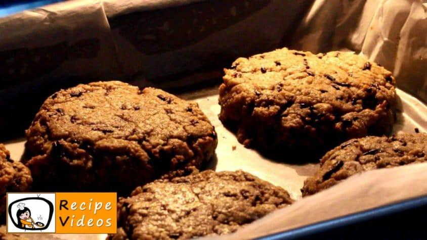 Chocolate Oatmeal Cookies with Frozen Yogurt recipe, how to make Chocolate Oatmeal Cookies with Frozen Yogurt step 6