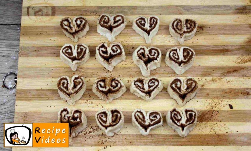 Cinnamon Hearts recipe, prepping Cinnamon Hearts step 7