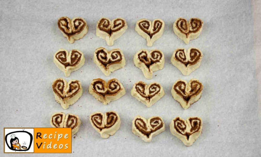 Cinnamon Hearts recipe, prepping Cinnamon Hearts step 8