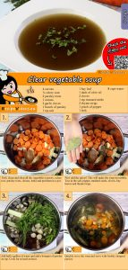 Clear vegetable soup recipe with video