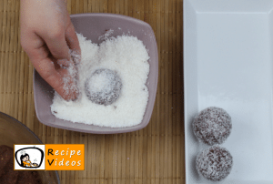 Coconut balls recipe, how to make Coconut balls step 5