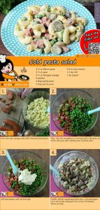 Cold pasta salad recipe with video