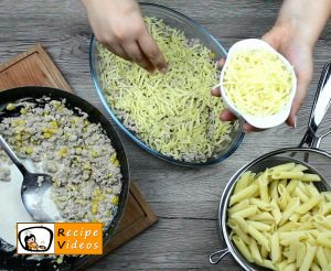 Creamy corn penne recipe, prepping Creamy corn penne step 5