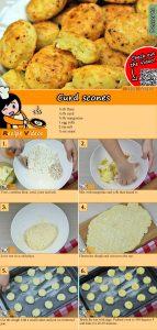 Curd scones recipe with video