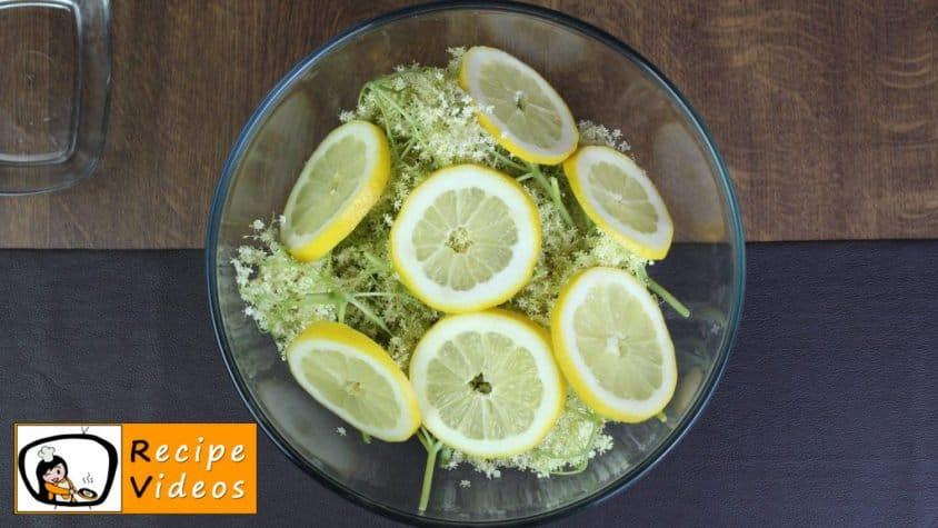 Elderflower syrup recipe, how to make Elderflower syrup step 1