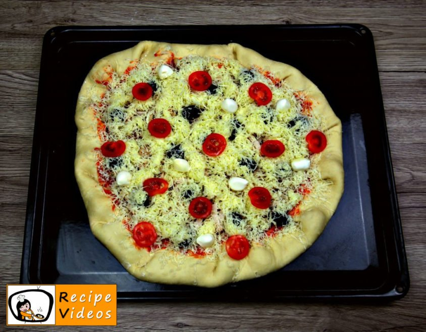 Flora's Pizza recipe, how to make Flora's Pizza step 4