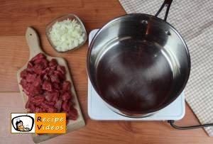 Goulash soup recipe, how to make Goulash soup step 1