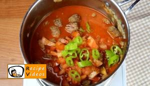 Goulash soup recipe, prepping Goulash soup step 4